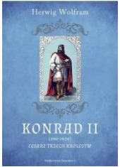 Konrad II (990-1039). Cesarz trzech - okładka książki
