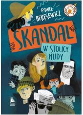 Skandal w stolicy nudy - okładka książki