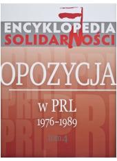 Encyklopedia Solidarności Tom 4. - okładka książki