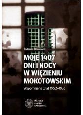 Moje 1407 dni i nocy w więzieniu - okładka książki