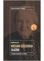 Zofia Kossak-Szczucka. Służba - okładka książki