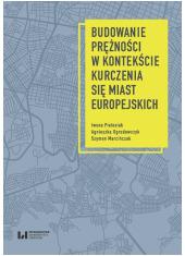 Budowanie prężności miast europejskich - okładka książki