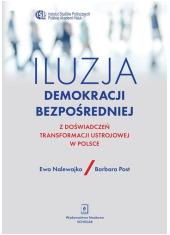 Iluzja demokracji bezpośredniej. - okładka książki