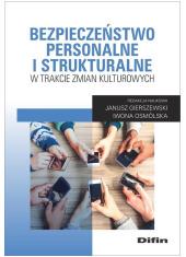 Bezpieczeństwo personalne i strukturalne - okładka książki