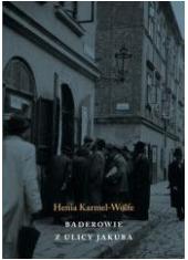 Baderowie z ulicy Jakuba - okładka książki