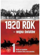 1920 rok – wojna światów. Studia - okładka książki