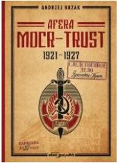 Afera  MOCR-Trust  1921-1927 - okładka książki