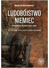 Ludobójstwo Niemiec na narodzie - okładka książki