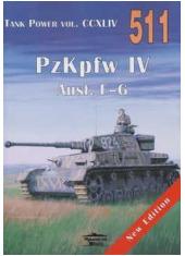 Tank Power nr 511 PzKpfw IV vol. - okładka książki