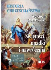 Historia chrześcijaństwa. Świętości, - okładka książki