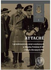 Attachés i przedstawiciele misji - okładka książki