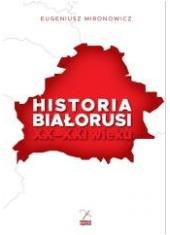 Historia Białorusi XX-XXI wieku - okładka książki